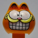 Smiling Garfield